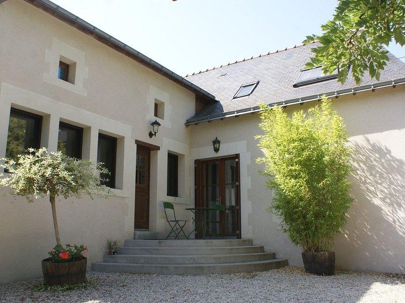 En Anjou, Grand Gîte des bords de Loire à proximité d'Angers 4 chambres ., location de vacances à Maine et Loire
