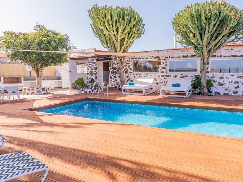 Maison full équipée pour 8 personnes située au nord de Fuerteventura, vacation rental in Villaverde