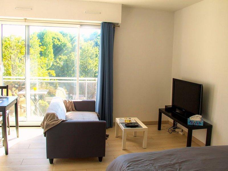 30 m2 tout équipé / tout inclus !, Ferienwohnung in Siouville-Hague