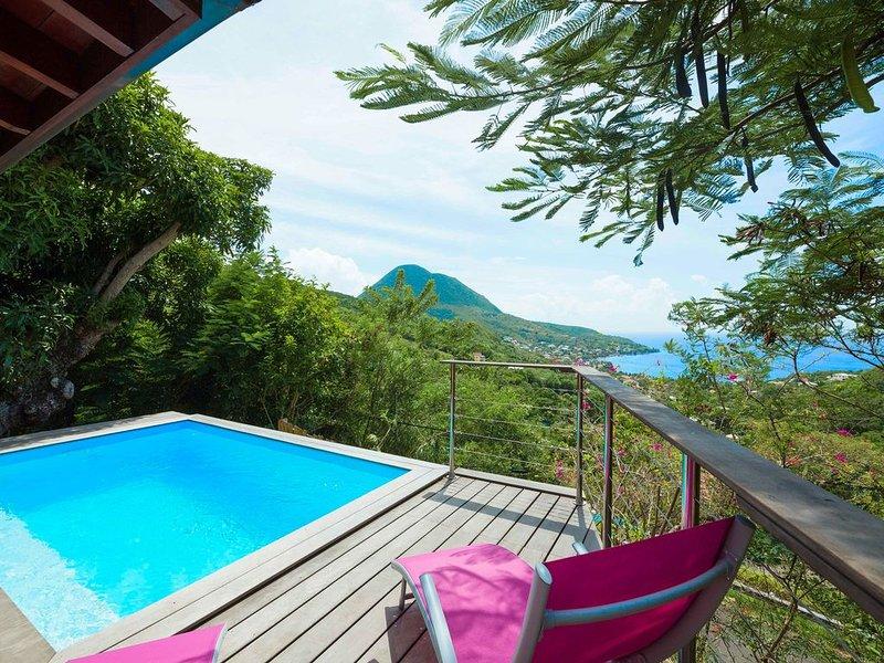 SALT-Villa. Villa de charme aux Anses d Arlets. Petite Anse., holiday rental in Les Anses d'Arlet