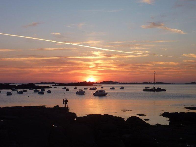Sunset at Trebeurden