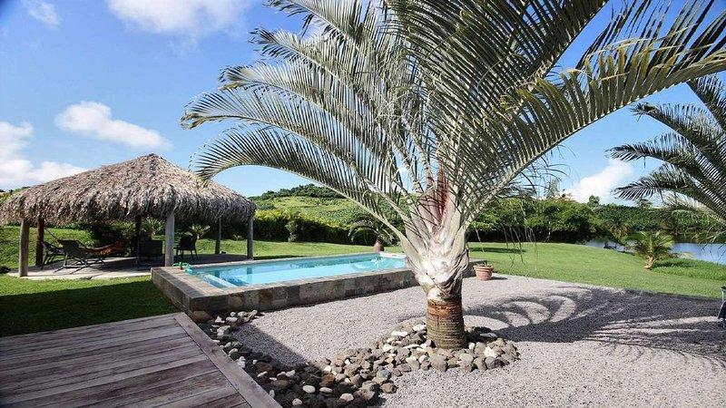 Villa Martinique 3 chambres, piscine, cadre reposant, proche spot kitesurf, vacation rental in Le Vauclin