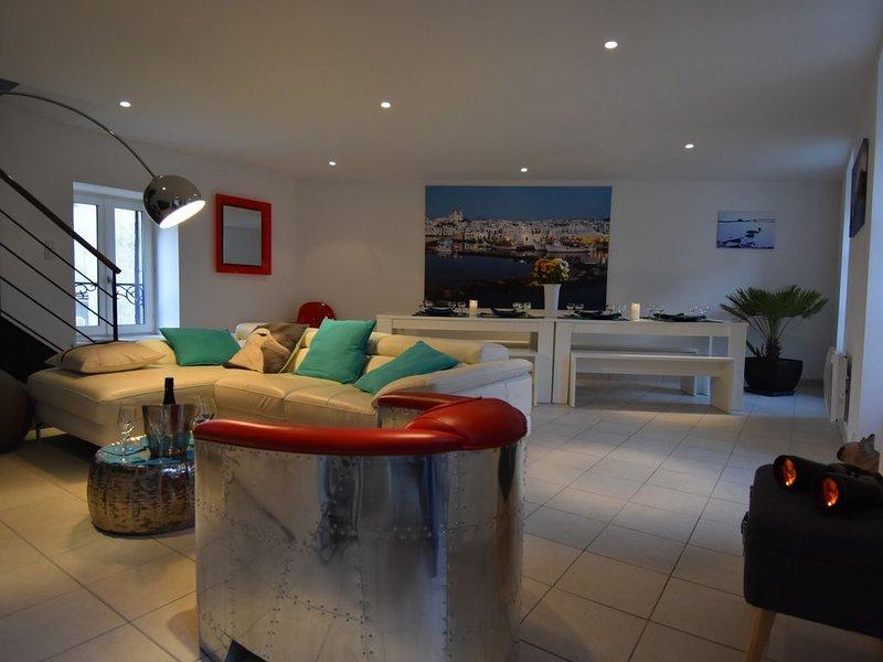 Villa sur le port, 8 couchages, vue mer, vakantiewoning in Roscoff