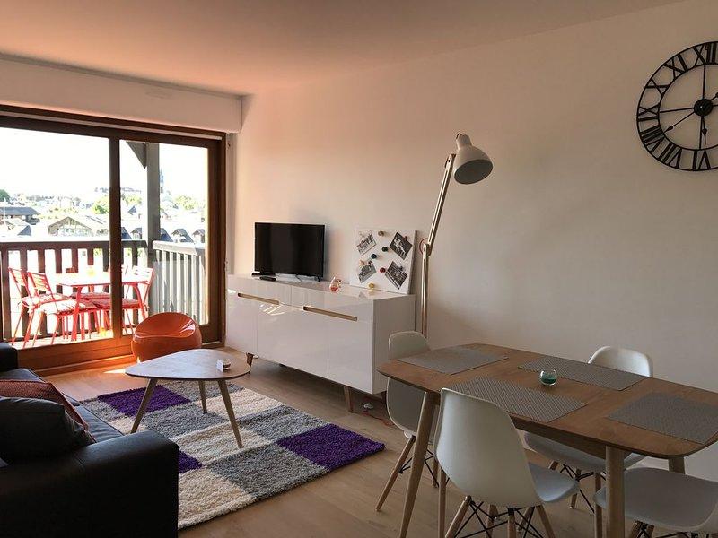 Joli 2 pièces tout équipé avec balcon – semesterbostad i Deauville City