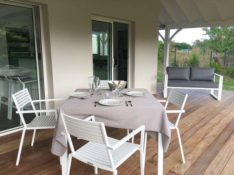 Appartement Carouge pour 2 à 4 personnes, alquiler de vacaciones en Le Francois