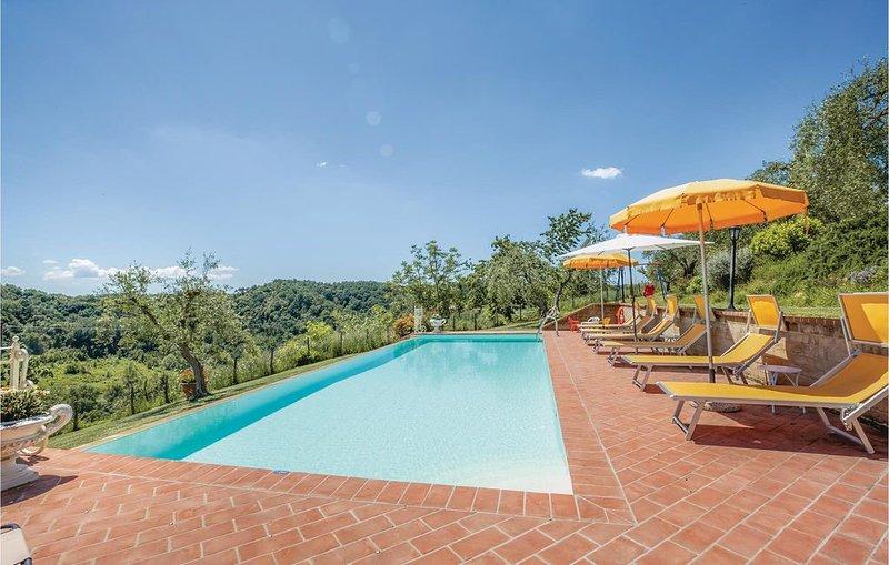 4 Zimmer Unterkunft in Montopoli V.d´Arno PI, location de vacances à Marti
