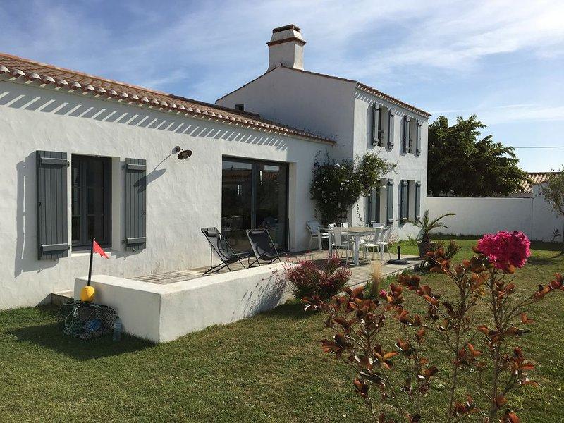 île de Noirmoutier, Le Vieil, belle maison 4 chambres (8 couchages) proche plage, alquiler de vacaciones en Noirmoutier en l'Ile