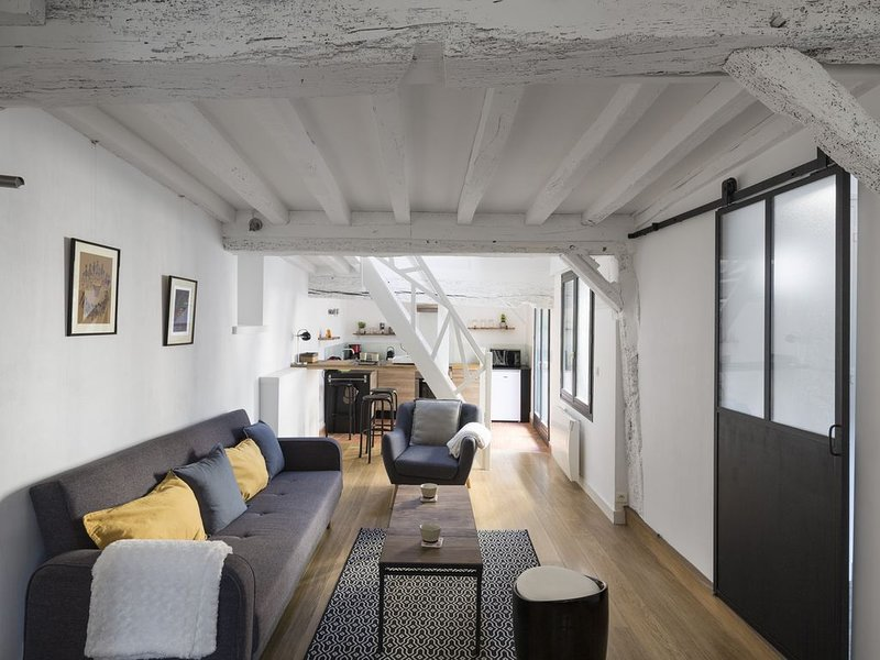 Le Saint Pierre - Deux Chambres Appartement, Couchages 4, vacation rental in Rennes