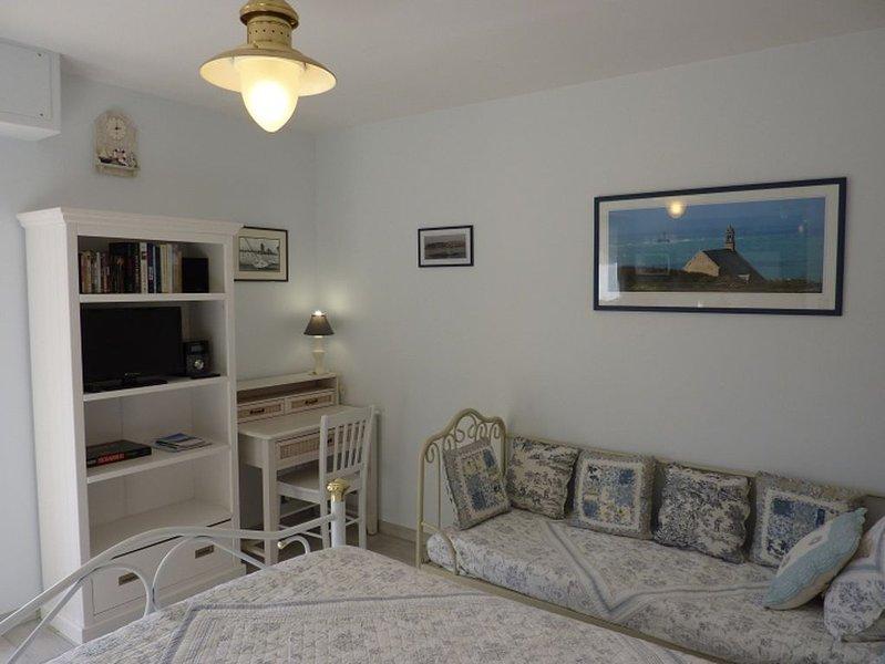 St Malo - studio récent, très bien situé - proche plage - animal accepté, aluguéis de temporada em Saint-Malo
