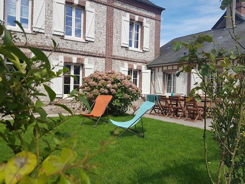 Belle maison entièrement rénovée à 2 km de la plage des Petites Dalles, vacation rental in Sassetot-le-Mauconduit