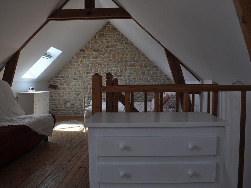 La Maison d'Auguste - Belle maison 12 personnes 3* - proche plages du D.Day, holiday rental in Colleville-sur-Mer