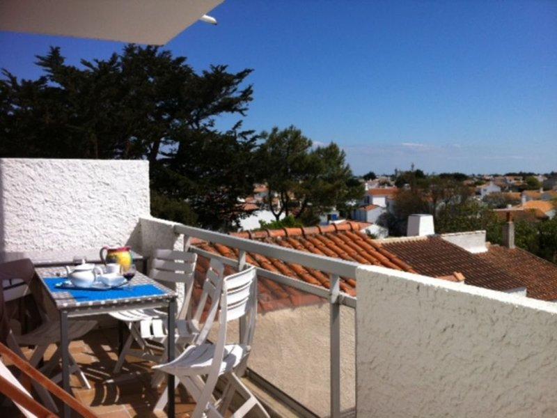 Spéciale offre Appart 2 terrasses vue sur le Port et vue campagne, location de vacances à Vendée