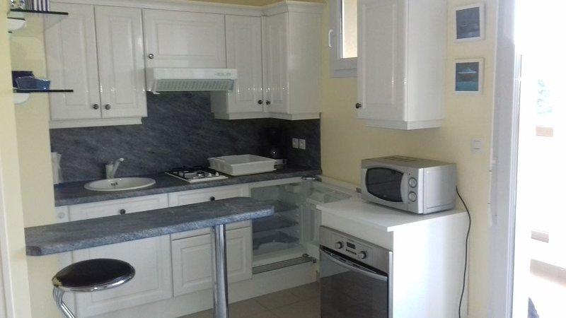 appartement bord de mer pour 2 personnes, alquiler de vacaciones en Saint-Jean-de-la-Riviere