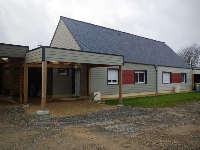logement neuf dans petite résidence, alquiler de vacaciones en Langoat