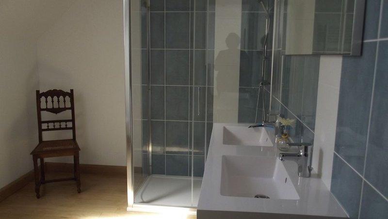 cuarto de ducha, wc, ducha, lavabos