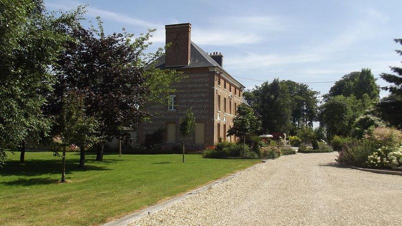 entrada de casas de campo
