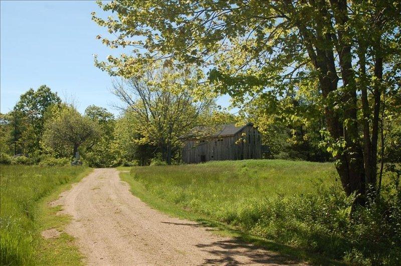 Orchard House - Vue depuis la route Herrick.