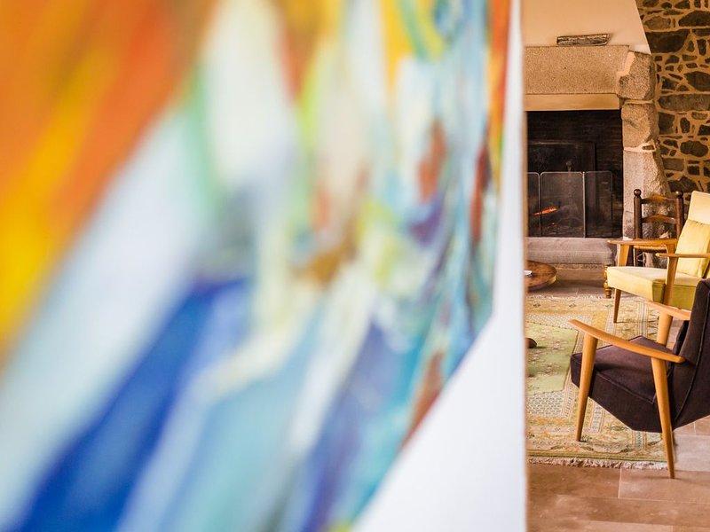 Maison bretonne de charme, 4épis vue sur mer - label handi tourisme, location de vacances à Plougrescant