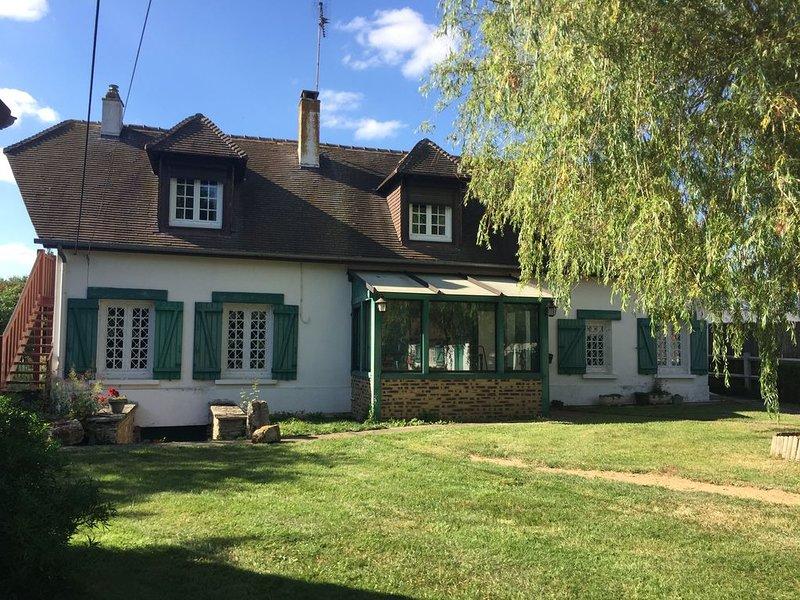 Le Plessis - maison à la campagne, alquiler de vacaciones en Eure
