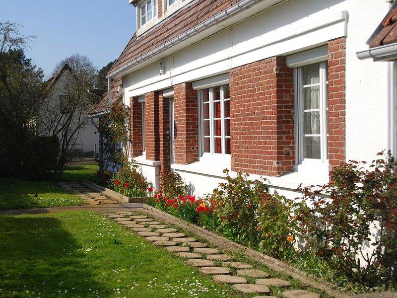 GITE DE BORD DE MER Berneval près de Dieppe et du Tréport, location de vacances à Belleville-sur-Mer