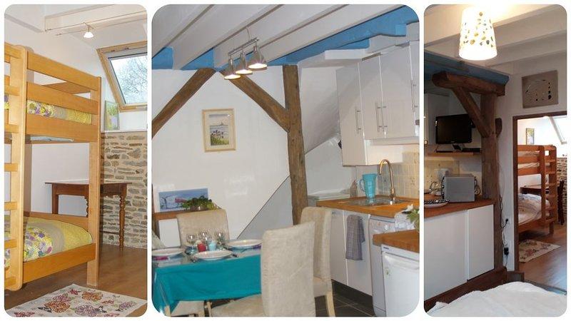 La Bulle En Baie, gîte offrant calme et confort en Baie du Mont Saint Michel, location de vacances à Saint-Aubin-de-Terregatte