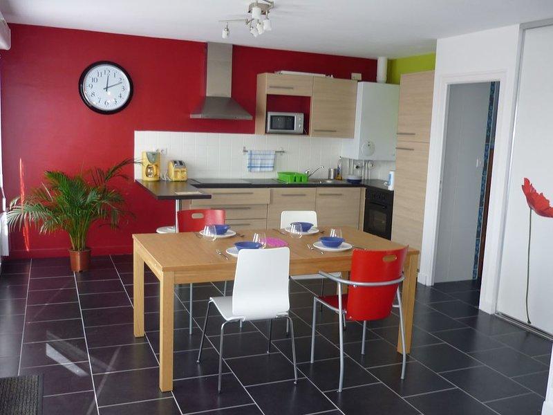 Appartement 2/4 pers dans la baie de Douarnenez, location de vacances à Plogonnec