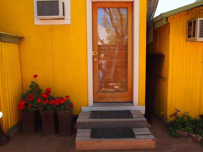 Porte d'entrée de votre casa, confortable et douce!