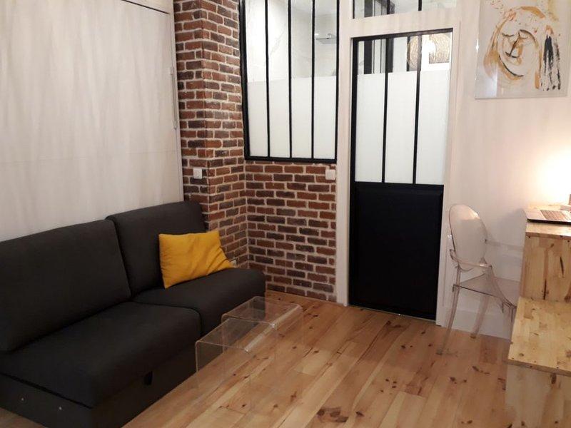 Charmant studio sur la butte Montmartre, vacation rental in La Plaine-Saint-Denis