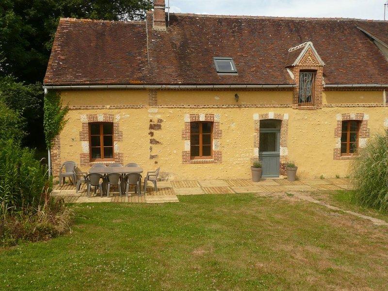 le charme d'une maison de campagne dans le perche, location de vacances à Moulins-la-Marche