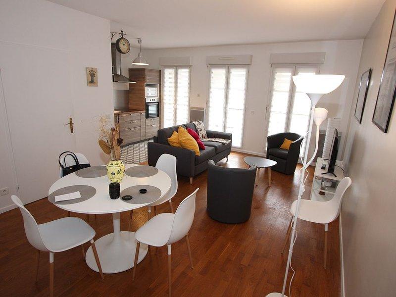 Appartement 3 pièces, Hyper proche de Disneyland, refait à neuf – semesterbostad i Bailly-Romainvilliers