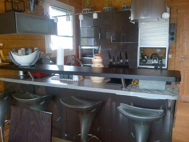 Maison en bois proche centre et mer, holiday rental in Cotes-d'Armor