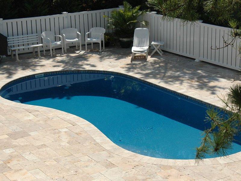Lado de la piscina