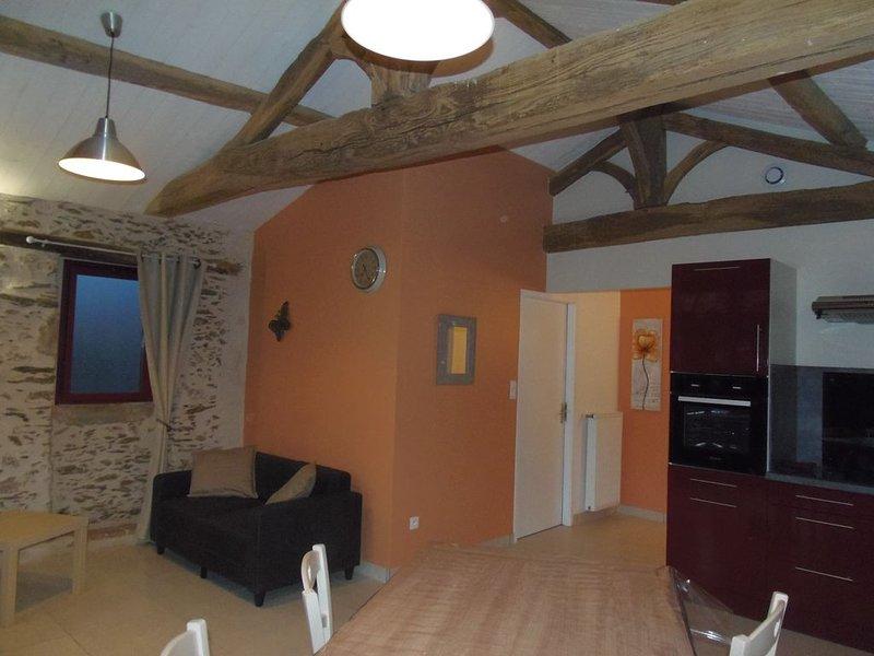 Gîte 2/3 personnes en campagne, vacation rental in Saint-Christophe-du-Ligneron