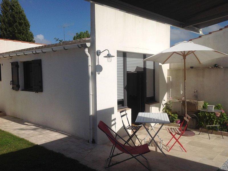 Studio à la nuitée pour 2 personnes, location de vacances à Saint-Gilles-Croix-de-Vie