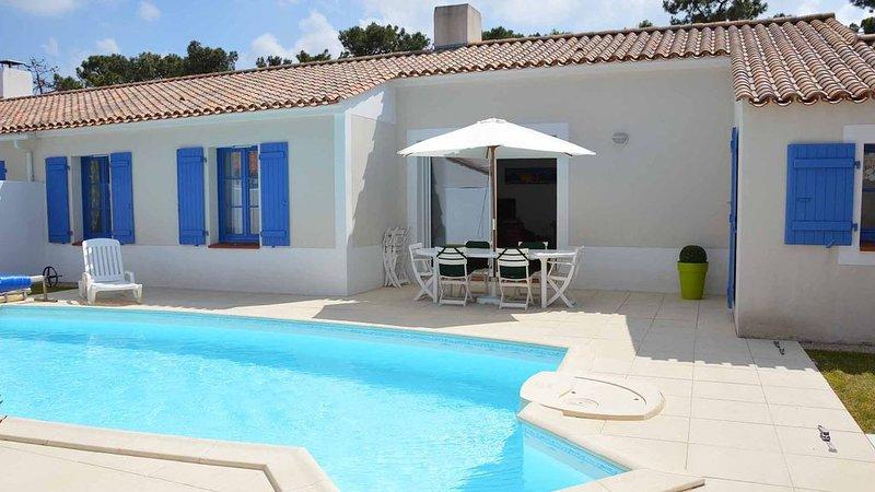 Domaine de Vertmarines 36, résidence sécurisée, piscine privée !, vacation rental in Saint-Jean-de-Monts