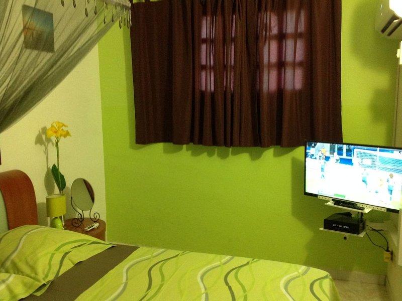 Appartement à Terreville Schoelcher, Fort de France, au centre de la Martinique, location de vacances à Arrondissement of Fort-de-France