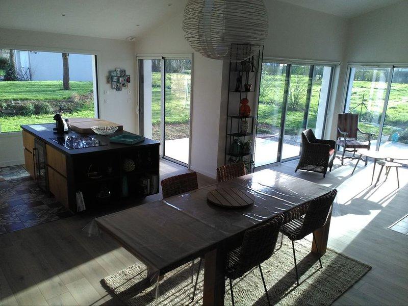 Maison tranquille au bord de la mer, alquiler de vacaciones en Matignon