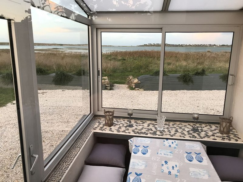 Les pieds dans la baie de Kernic, casa vacanza a Lanhouarneau