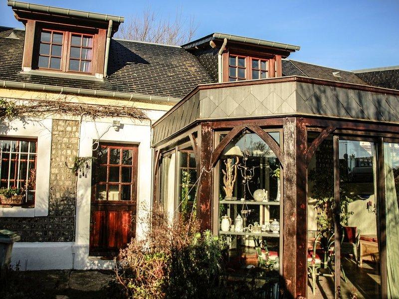 La P'tite Cauchoise maison entière à louer idéale pour un couple., location de vacances à Le Tilleul