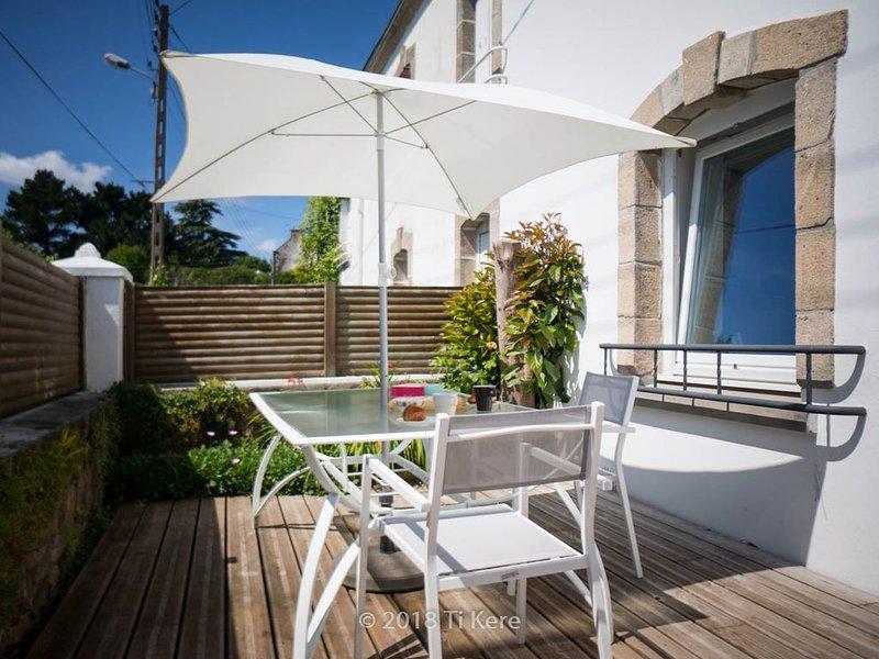 Ti Kere: Maison familiale au cœur d'Audierne, alquiler de vacaciones en Audierne