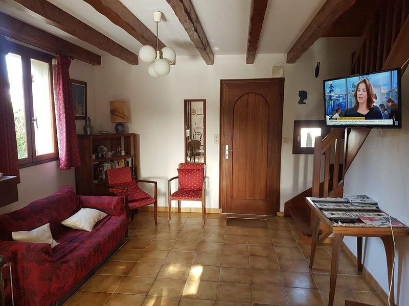 Maison familiale située à 3kms de la mer dans le golfe du morbihan, location de vacances à Saint-Armel