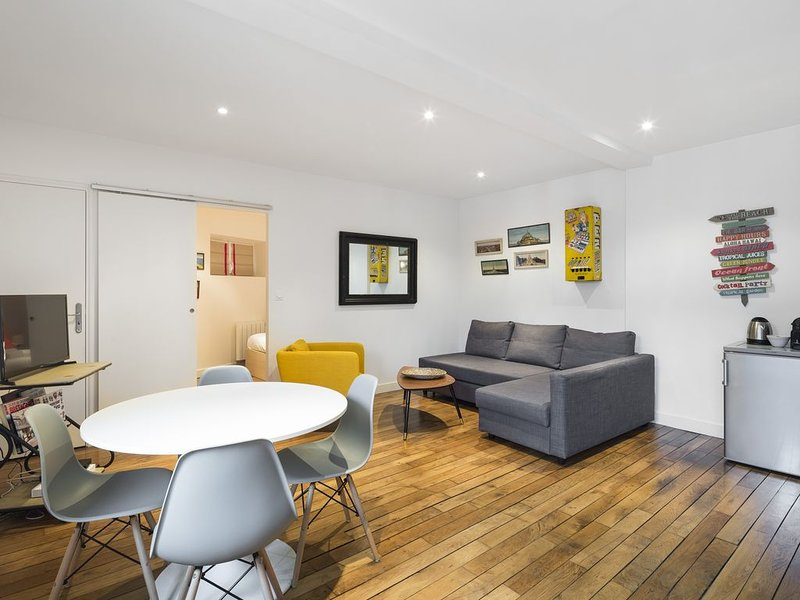 Les Jacobins - Une Chambre Appartement, Couchages 4, vacation rental in Rennes
