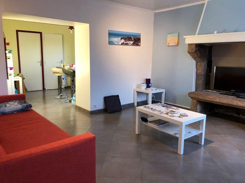 Appartement tout confort à Perros G, proche Trestraou et douaniers, holiday rental in Ploumanac'h