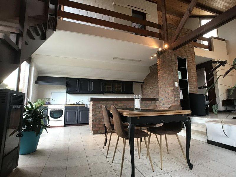 Maison, parking et jardin, entre Lille et Tournai, vacation rental in Antoing