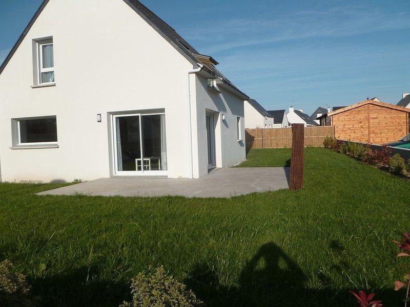 Maison neuve Erdeven, aluguéis de temporada em Morbihan