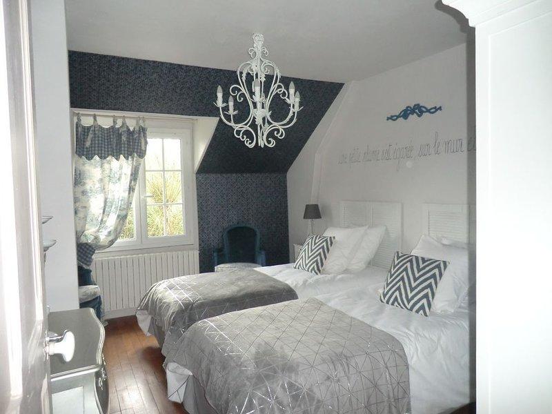 Dormitorio 2 camas individuales.