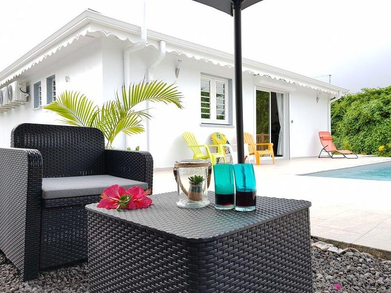 La Villa Lovina à Sainte-Anne, location de vacances à Le Marin