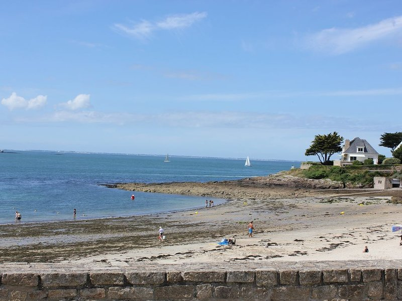 Port Navalo at low tide