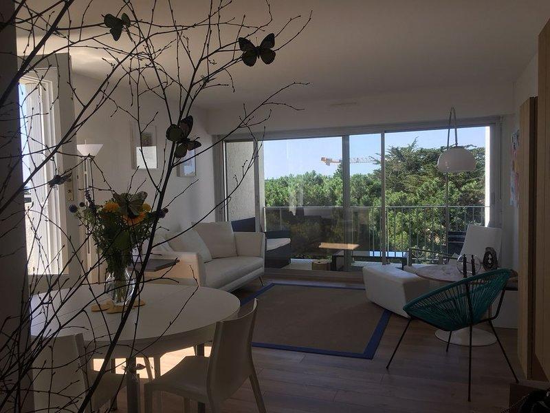 Bel Appartement mer et pins, holiday rental in La-Baule-Escoublac