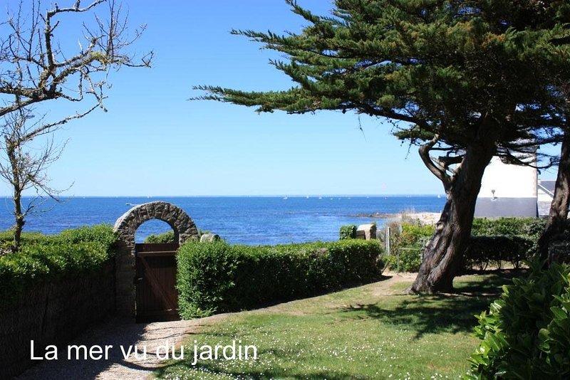 Maison au calme face à la mer, location de vacances à Piriac-sur-Mer